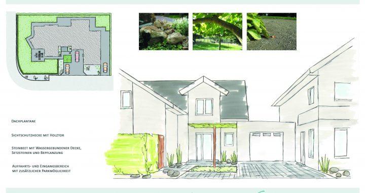 Präsentationsplan Garten- und Landschaftsbau